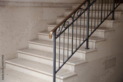 Valokuvatapetti Treppe im Hauseingang