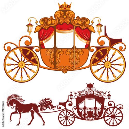 Fotografia Royal carriage