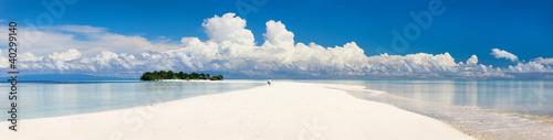 Fotografia, Obraz Tropical island panorama