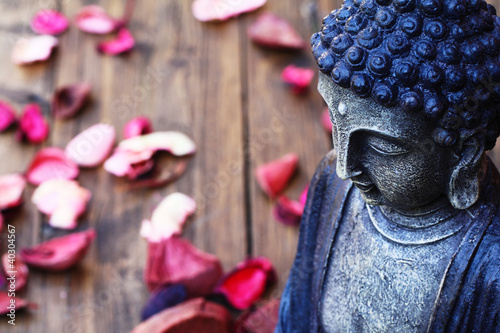 Buddhastatue Fototapete