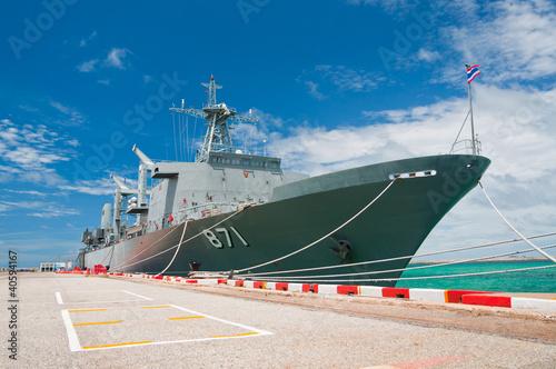 warship Fotobehang