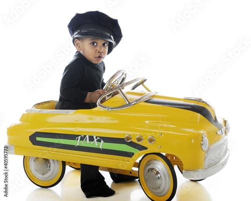 Fotomural Adorable Cabbie