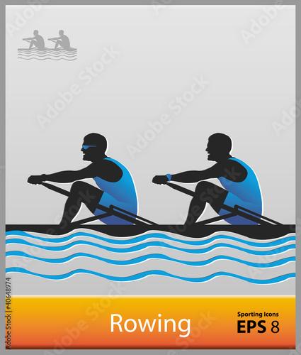 Fotografía Rowing
