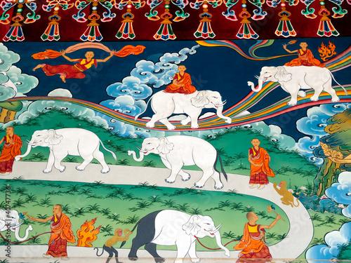 Slika na platnu How to tame elephant