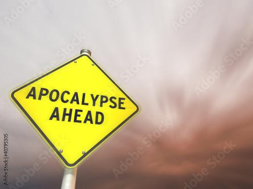 APOCALYPSE AHEAD! Fototapet