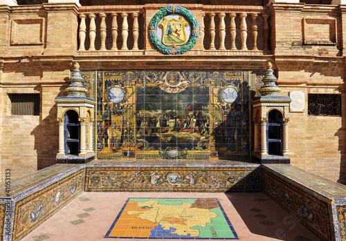 Provincia de Álava, plaza de España, Sevilla