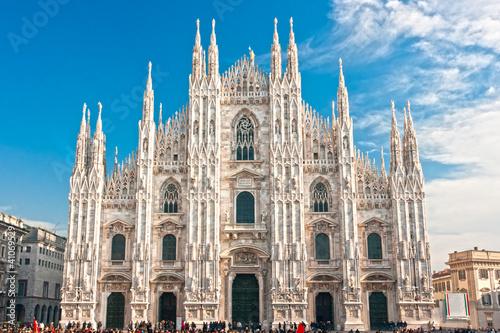 Fotografie, Obraz Duomo of Milan, (Milan Cathedral), Italy.