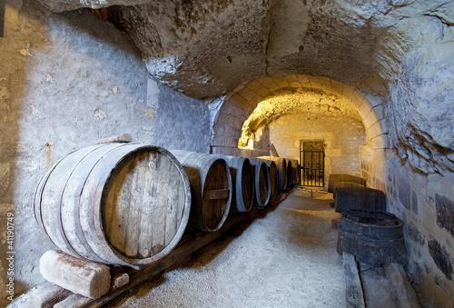 Fotografie, Obraz ancient wine cellar in the tuff