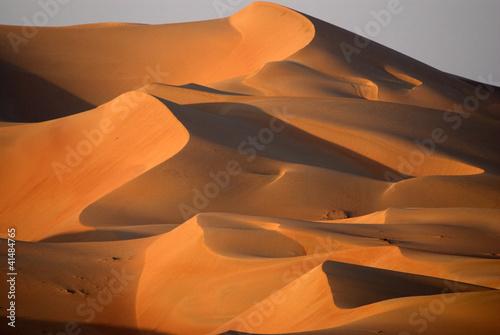 Dunes in Abu dhabi Fototapeta