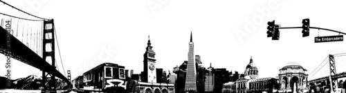 Photo San Francisco sketch