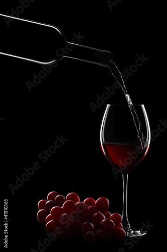 vino versato Fototapete