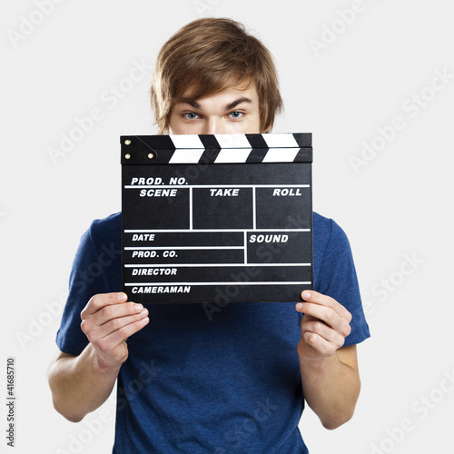 Fotomural Showing a clapboard