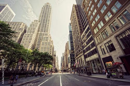 Fotografia avenue à new york