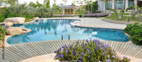 Fényképezés luxury pool