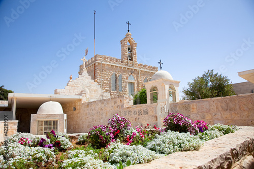 Photographie Milk Grotto church in Bethlehem, Palestine