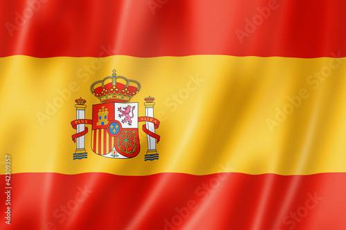 Wallpaper Mural Spanish flag