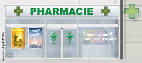 Fotografie, Tablou Facade_Pharmacie_Activite