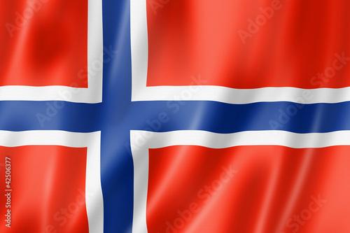 Wallpaper Mural Norwegian flag