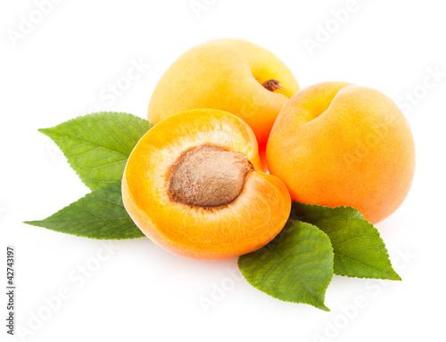Fototapeta ripe apricots