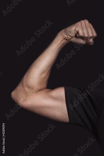 Fototapeta premium Umięśnione ramie
