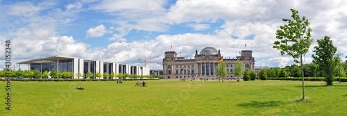 Panoramafoto Berlin, Reichstag