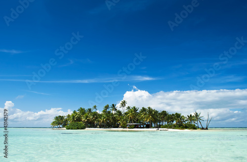 Fotografia Uninhabited island in the Pacific
