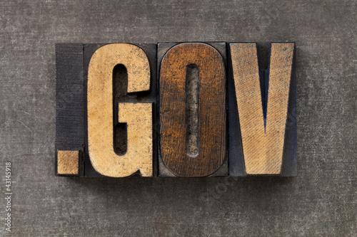 internet domain for government Fototapet