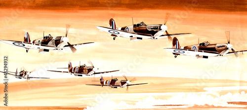 Tablou Canvas avions