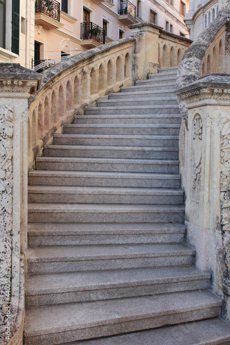 Fototapeta premium Stare schody