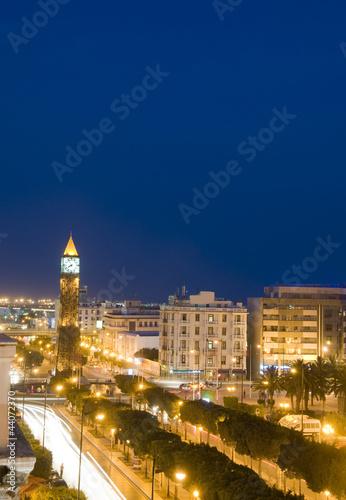 Clock Tower avenue Habib Bourguiba Ville Nouvelle Tunis Tunisia