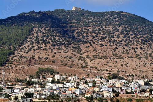 Fényképezés Travel Photos of Israel - Mount Tabor and Izrael Valley
