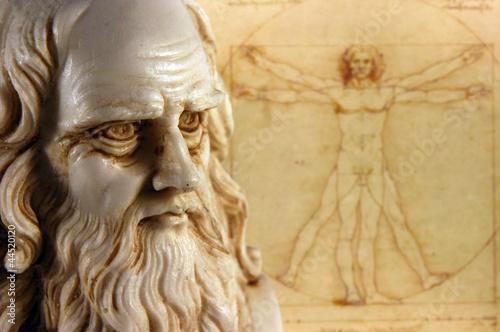 Fotografie, Tablou Leonardo da Vinci