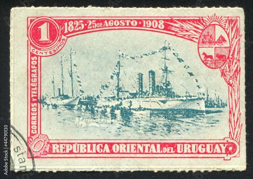 Canvas Print Cruiser Montevideo