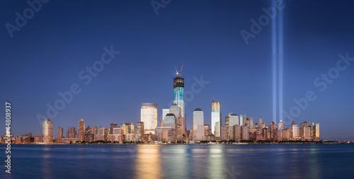 Fototapeta 9/11 Memorial September 2012 Tribute in Light World Trade Center