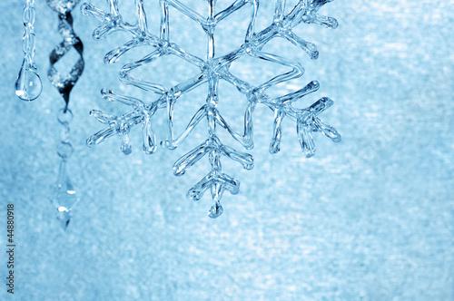 Obraz na płótnie blue christmas decoration