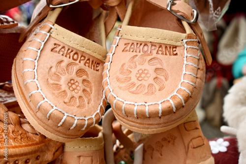 souvenir leather shoes