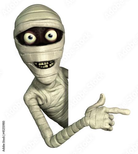 Fotografie, Tablou Halloween mummy
