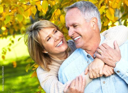 Happy senior couple. #45251154