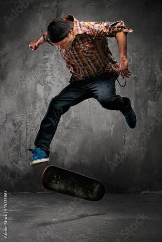 Wallpaper Mural Skater doing a trick