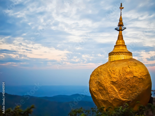 Tableau sur Toile Golden Rock, Kyaiktiyo Pagoda, Myanmar