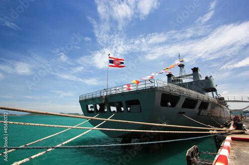 Canvas warship  in Thailand