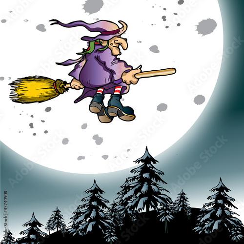 wiedźma i księżyc