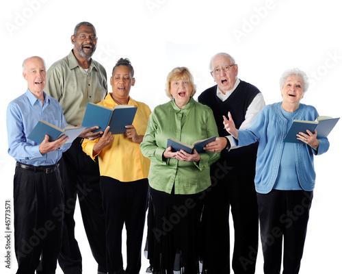 Fotografia Singing Seniors