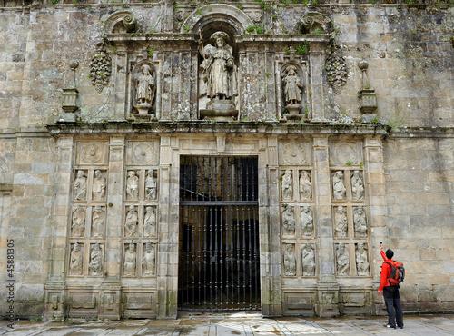 Cuadros en Lienzo Puerta del Perdón, Santiago de Compostela