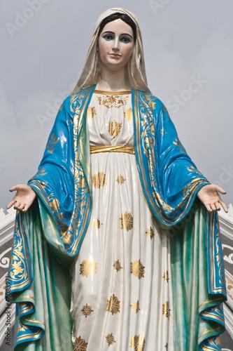 Obraz na płótnie Maria statue