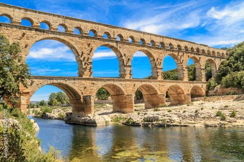 Valokuva Pont du Gard, Nimes, Provence, France