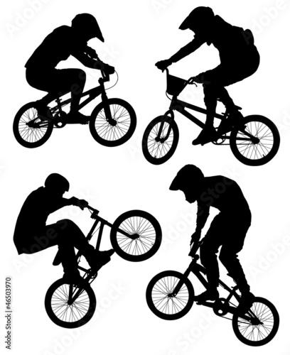 Cuadros en Lienzo Cycling BMX