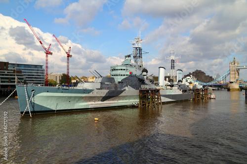 Stampa su Tela HMS Belfast