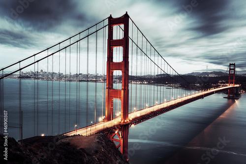 dark bridge #46900307