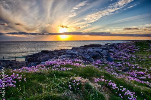 Fotografia Sunset at Tangasdale - HDR